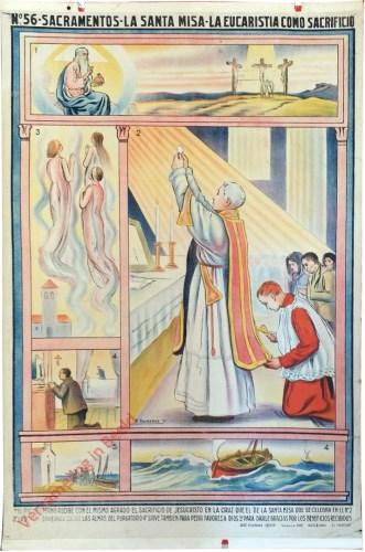 56 - Sacramentos - La santa misa - La eucaristia como sacrifisio [Spaans]